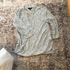 Drapey Banana Republic blouse